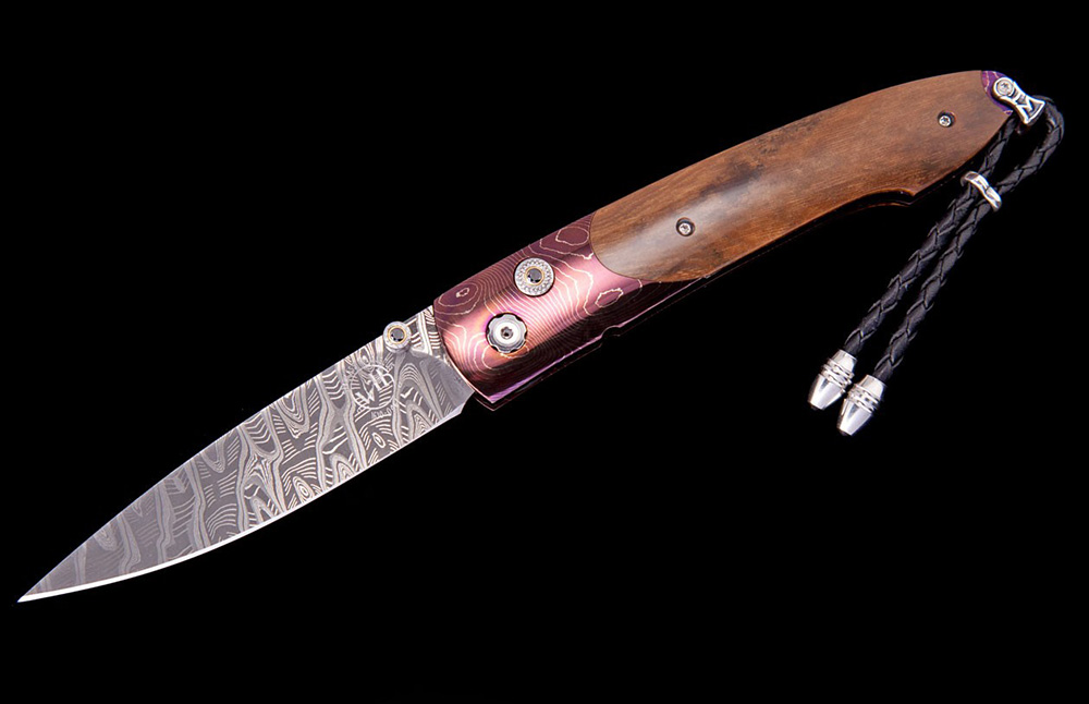 William Henry Limited Edition B10 Orchid Knife