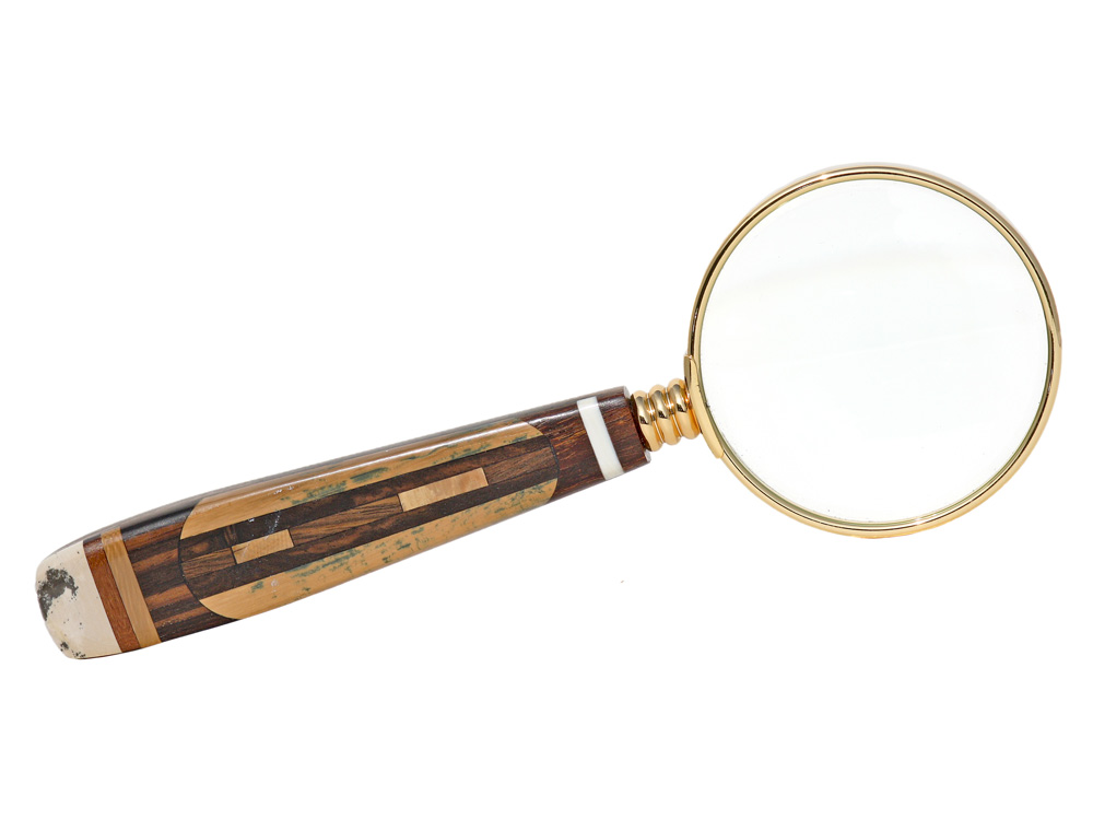 Ancient Mammoth Ivory Magnifying Glass