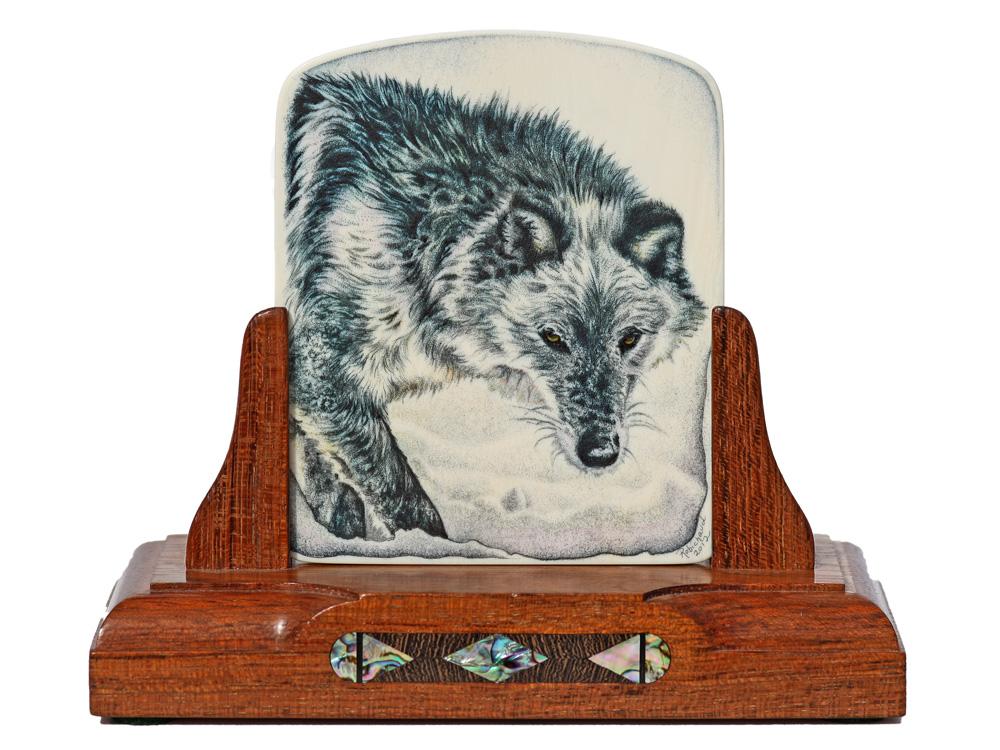 Heidi Robichaud Scrimshaw - Ghost Wolf