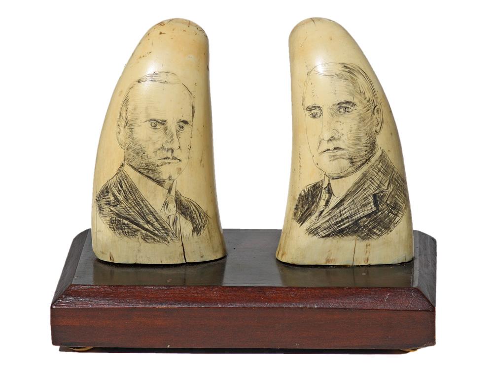 Warren G. Harding and Calvin Coolidge