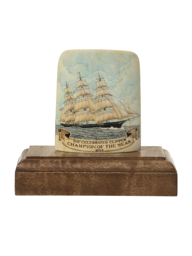 Joel Cowan Scrimshaw - The Celebrated Clipper Champion of the Seas 1854