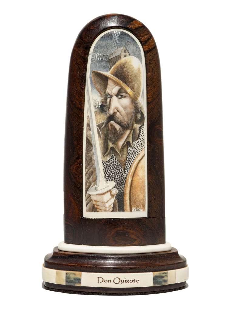 Gary Williams Scrimshaw - Don Quixote