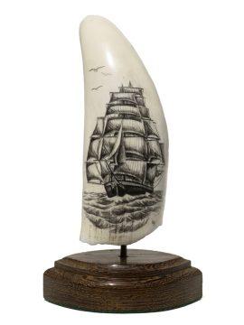 L.B. Scrimshaw - Sails Galore!