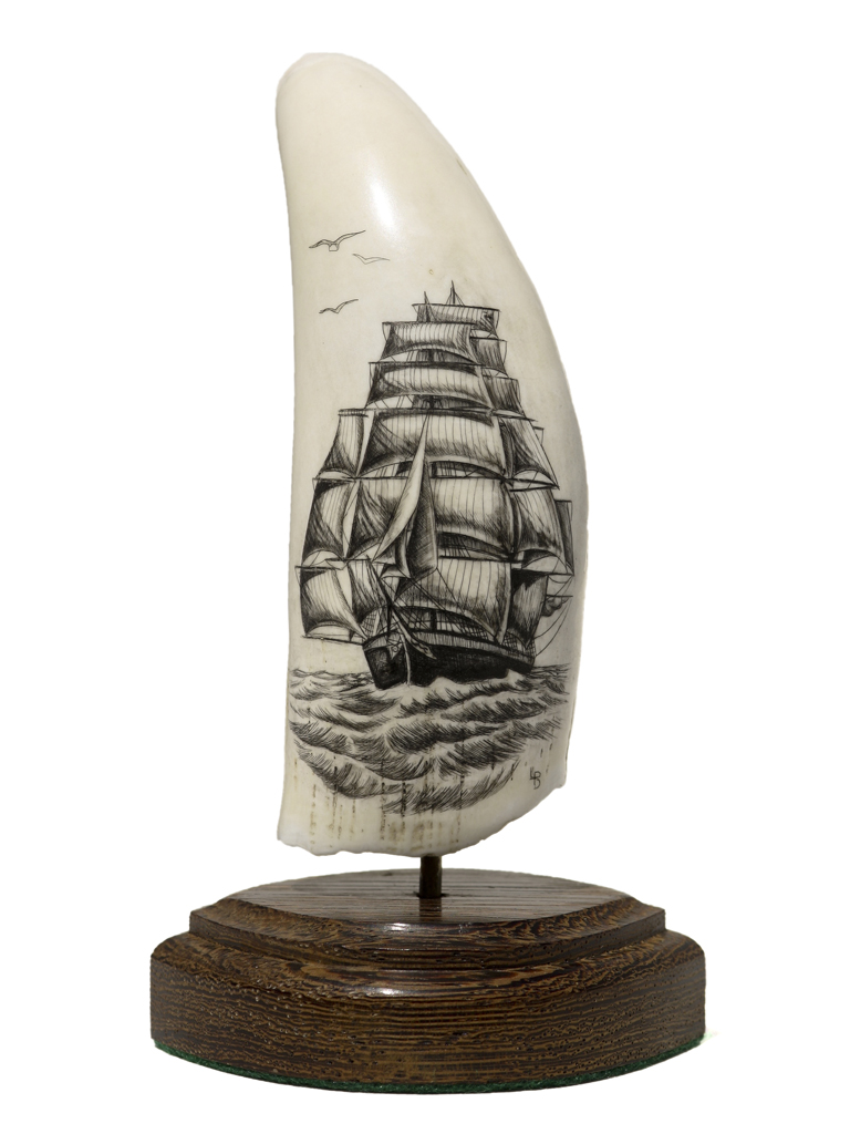L.B. Scrimshaw - Sails Galore!