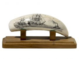 Ray Peters Scrimshaw - Towing Out