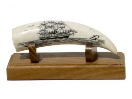 L.B. Scrimshaw - Passing Ship and Orca