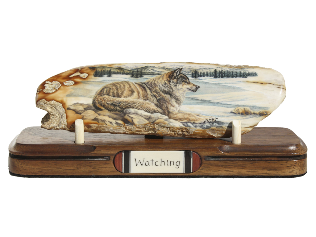 Matt Stothart Scrimshaw - Watching