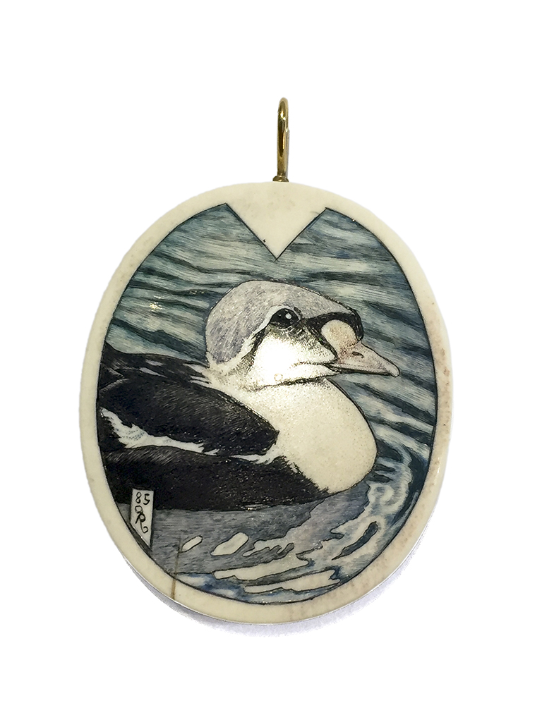 Kelly Mulford - Wood Duck Pendant