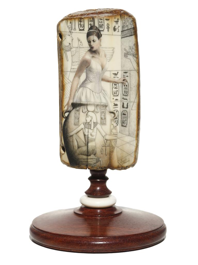 David Adams Scrimshaw - The Spirit of Nefertiti
