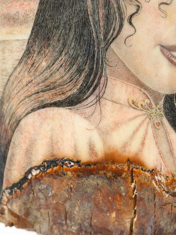 David Adams - Portrait of Johanna