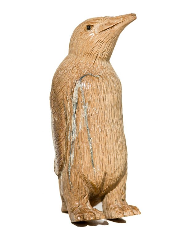 Unknown Artist - Mammoth Ivory Carving - Penguin