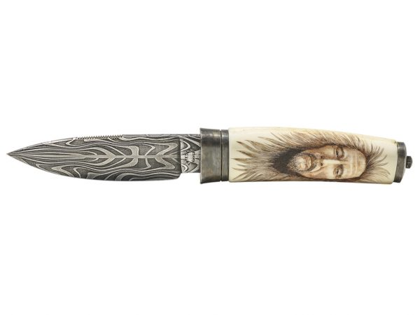 Gary Williams Scrimshaw - Custom Scrimshaw Knife
