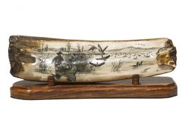David Adams Scrimshaw - Canada Goose Hunt