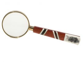 Gerry Dupont - Scrimshaw Magnifying Glass