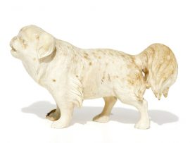 Unknown Carver - Pekingese Ivory Carving