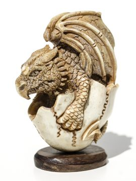 Unknown Carver -Dragon Egg Carving