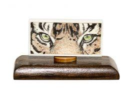 David Smith Scrimshaw - Tiger Eyes