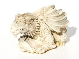 Unknown Artist - Resting Dragon Carving