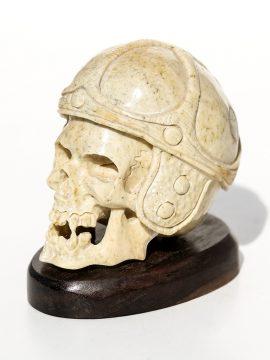 Unknown Artist - Vampire Skull with Helmet