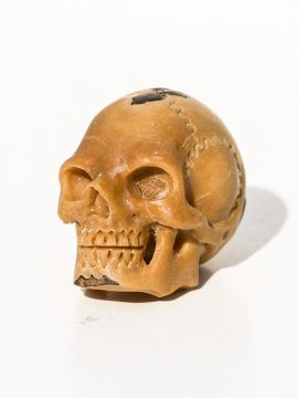 Unknown Artist - Skull Carving Tagua Nut