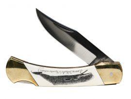 Gerry Dupont Scrimshaw - Scrimshaw Knife