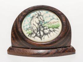 Unknown Artist - Mountain Goat Scrimshaw