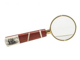 Gerry Dupont Scrimshaw - Oxbone Magnifying Glass