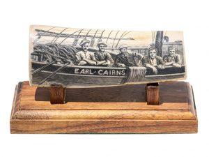 Martin Bandy Scrimshaw - Earl Cairns Crewmen