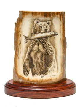 Scrimshaw by Majak - Well Fed Grizzly