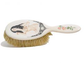 Karen Reno Scrimshaw - Woman with Comb