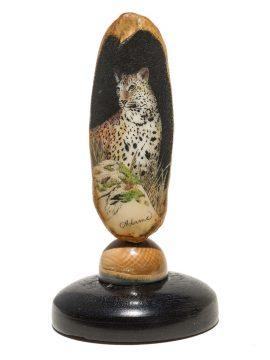 David Adams Scrimshaw - Leopard Hunting at Night