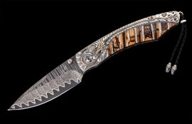 William Henry Limited Edition B12 Golden Dragon Knife