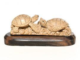 Unknown Carver - Sea Turtle Traffic Jam