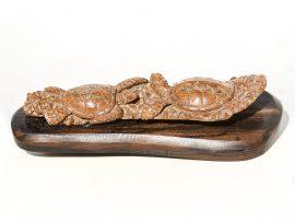 Unknown Carver - Sea Turtle Pair